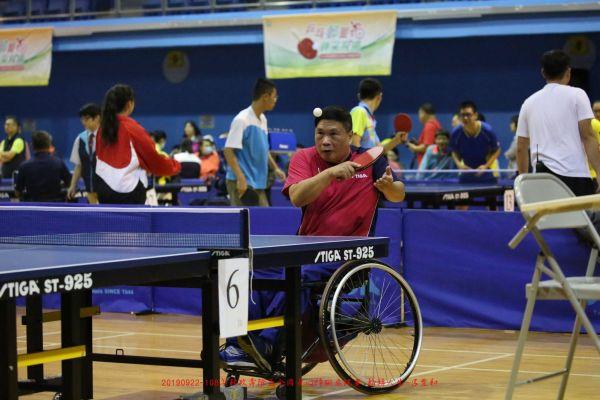 2019_09_22-108年郵政壽險盃全國身心障礙桌球賽